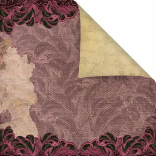 PRIMA USA VENUE 12 X 12  - Дизайнерска скрапбукинг хартия 30,5 х 30,5 см.