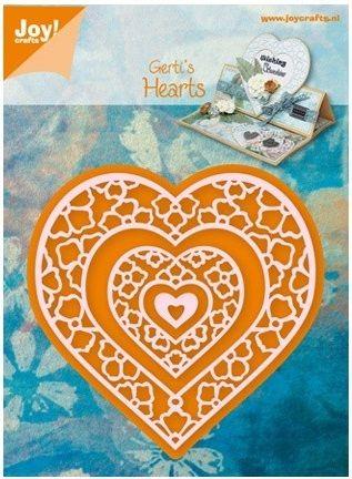 HEARTS by JOY Crafts - Щанци за рязане  6002/0408