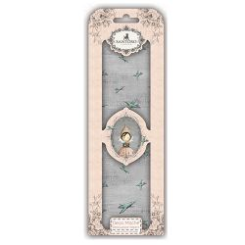 SANTORO MIRABELLE DECO MACHE - Декупажни хартии 22gsm, 3бр (26x37.5cm)