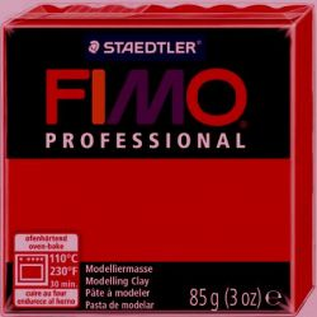 FIMO PROFESSIONAL 85gr -  CARMINE