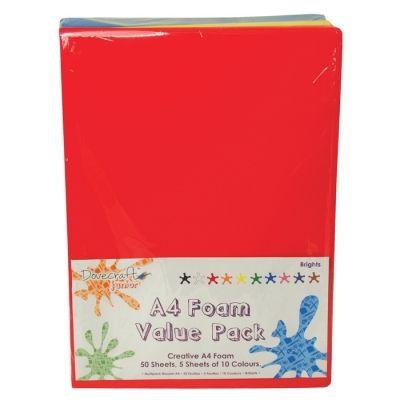 FOAM PACK A4  (MOOSGUMMI) - 50 ЛИСТА