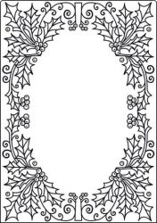 Crafts TOO Embossing Folder - Папка за релеф  А4 / cta4011