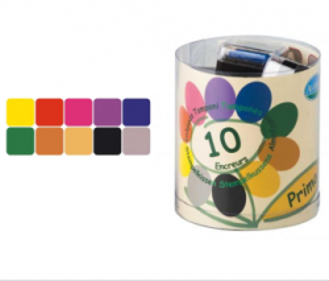 STAMPO colors ALADINE - Комплект пигментни тампони 10 цв. PRIMA