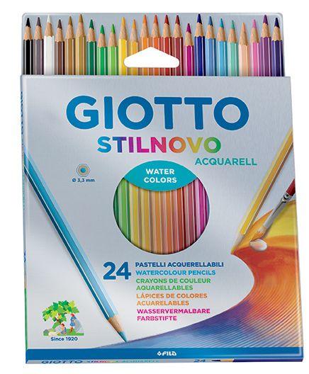 GIOTTO AQUARELL 24 - Фини акварелни моливи 24цв