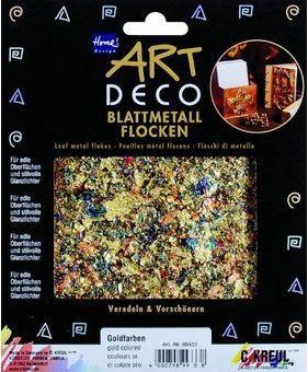 ART DECO BLATTMETALL FLAKES - Варак шлаки Микс / MIXED