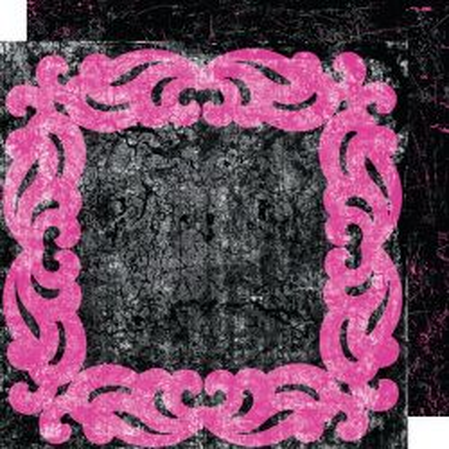 GLITZ GLAM FRAME ,USA 12 X 12  - Дизайнерски скрапбукинг картон 30,5 х 30,5 см.