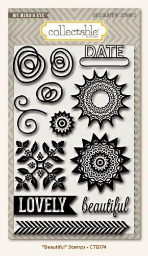 MME STAMPS - Дизайнерски печати BEAUTIFUL