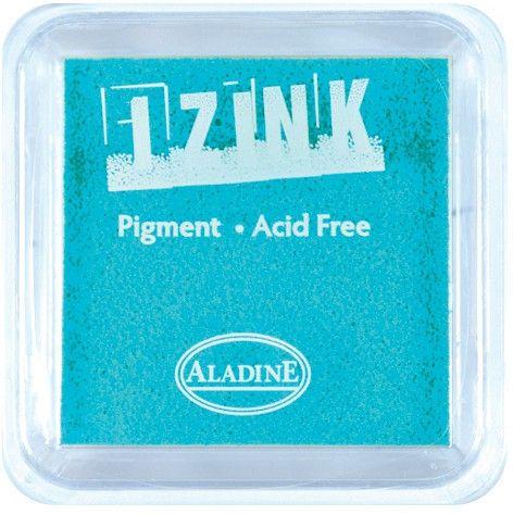 IZINK PAD PIGMENT - Среден тампон 4х4см - AQUA