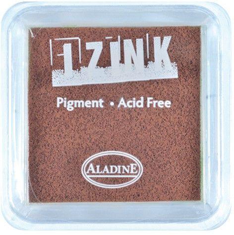 IZINK PAD PIGMENT - Среден тампон 4х4см  - BROWN