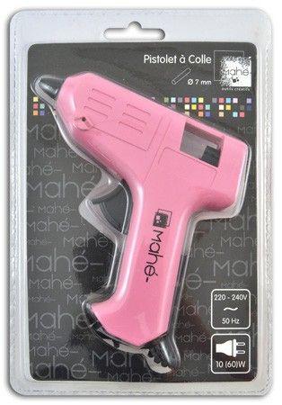 GLUE GUN MAHE 7mm  - Мини пистолет за силикон за фина работа + 2 сил пръчки