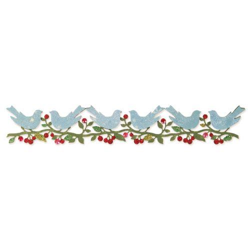 Sizzlits Decorative Strip Die - Bower Birds