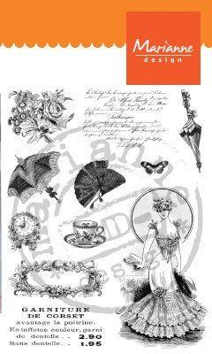 MD VICTORIAN LADIES 2 - Дизайн прозрачен печат