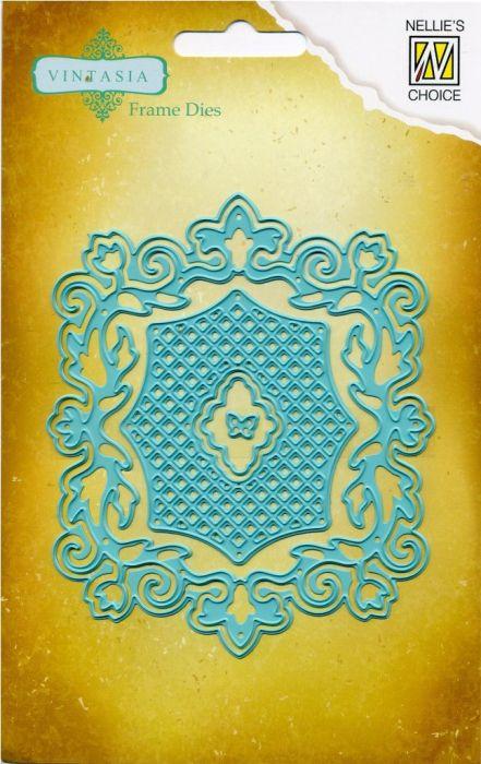 Vintasia Die  - Детайлна щанца за рязане и релеф, 5бр. VIND009