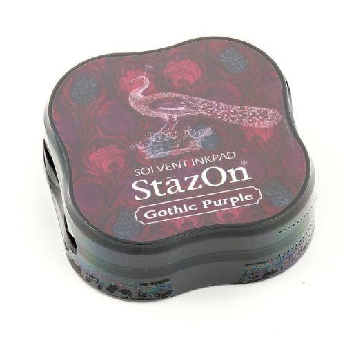 StazOn MIDI - Тампон за всякаква твърда или гланцирана повърхност - Gothic Purple