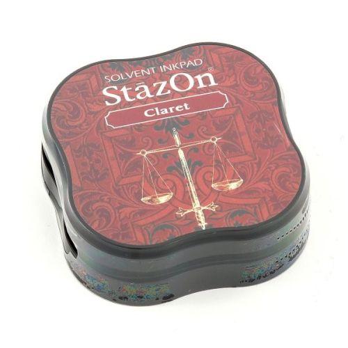 StazOn MIDI - Тампон за всякаква твърда или гланцирана повърхност - Claret