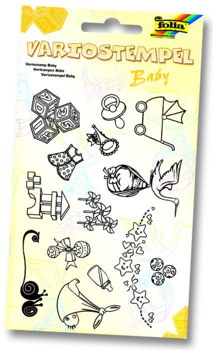 BABY by FOLIA STAMPS - Комплект печати 11Х15 см БЕБЕ