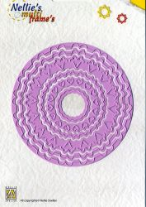 FRAMES Nellie Snellen - Щанци (POP UP) за рязане и релеф, 6 бр. MFD054