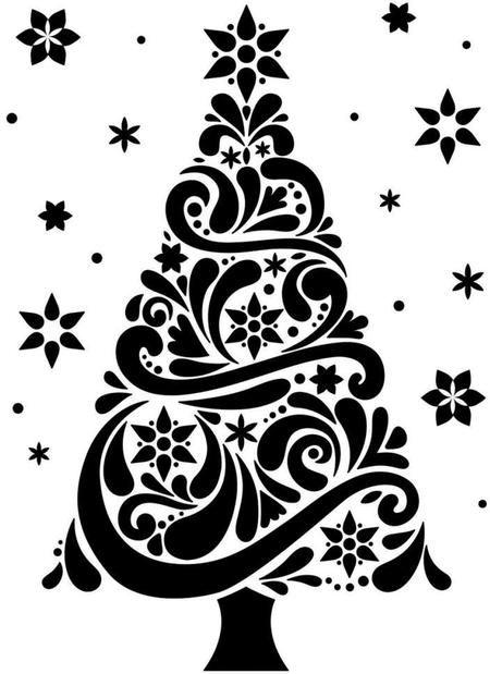 DARICE Emboss Folder - Папка за релеф CHRISTMAS TREE 108 х 146 мм.