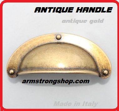 ANTIQUE HANDLE - Метална дръжка за чекмедже ANT GOLD