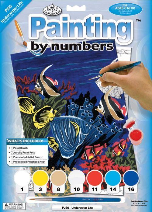 R&L,USA - Рисуване по номера  А4 * PJS6