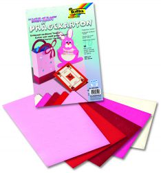 "FB ""HEARTS EMBOSSED"" Pad  - Скарпбукинг блок 23х33 / 10листа"