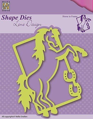 Lene Design DIES - Фигурална щанца за рязане и релеф, 1бр. SDL004