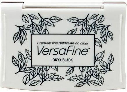 VERSAFINE Pad - Тампон с високо покривно мастило ONYX BLACK