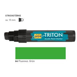 TRITON ACRYLIC MARKER 5-15MM -  Акрилен маркер FLUO GREEN