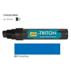 TRITON ACRYLIC MARKER 5-15MM -  Акрилен маркер PRIMARY BLUE