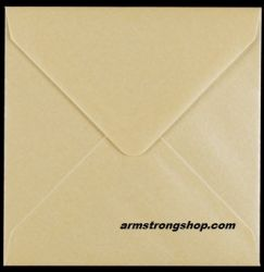 CENTURA ENVELOPES England - Перлени пликове 155 X 155 мм. CREAM