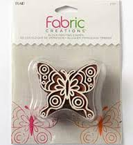 FABRIC CREATIONS USA - Дизайнерски  печат DOODLE BUTTERFLY