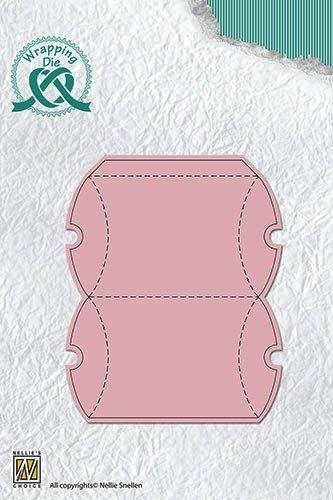 "BOX Nellie Snellen, giftbox-3 ""rectangle box"" - Детайлна щанца за рязане и релеф, WPD003"