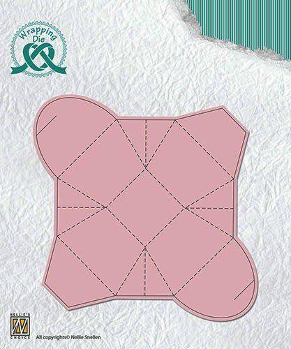 BOX Nellie Snellen DIE  - Детайлна щанца за рязане и релеф, WPD002