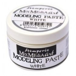 ANTICO Modeling paste, Stamperia - ART паста 150 мл. WHITE