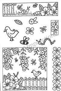 ART Stamps ENGLAND - прозрачни печати А6