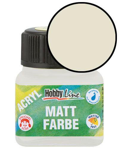ACRYLIC MATT FARBE  20ML - Фин акрил и за маникюр SOFT BEIGE