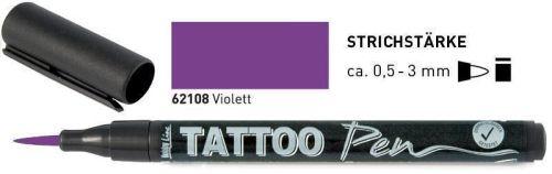 TATTOO PEN , Germany  - Маркер за татуировки ВИОЛЕТ