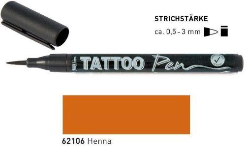 TATTOO PEN , Germany  - Маркер за татуировки HENNA