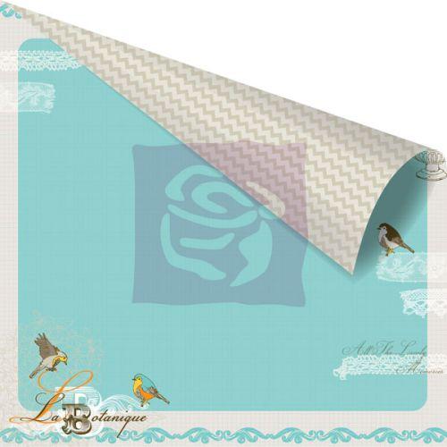 PRIMA USA BIRDS of FEATHER 12 X 12  - Дизайнерски скрапбукинг картон 30,5 х 30,5 см.