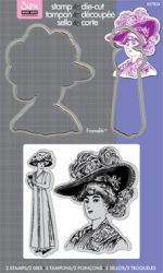 Framelits Die Set  w/Stamps - Комплект щанци и печати LADIES with HATS