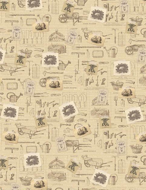 ARTEMIO DESIGN matt paper - Хартия за декупаж и апликация 50Х70см