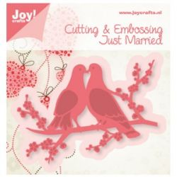 LOVE BIRDS JOY Crafts -Щанци за рязане и релеф  6002/0383
