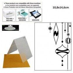 DARICE Emboss Folder - папка за релеф 108 х 146мм