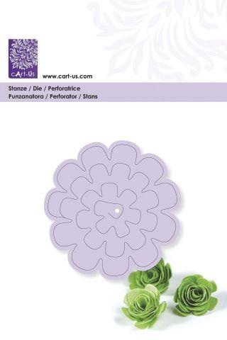CART-US DIE # 3D flower 1 - Дизайн щанци