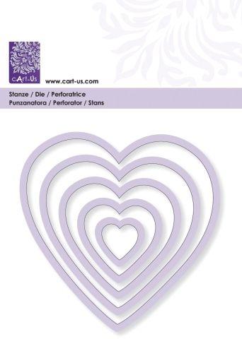 FORMS CART-US DIE #  HEARTS - Дизайн щанци
