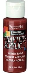 CRAFTERS ACRYLIC USA 59 ml - DEEP RED