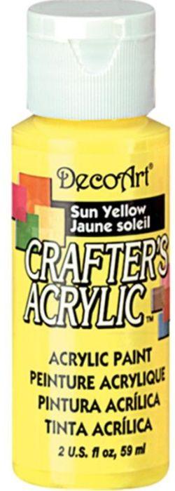 CRAFTERS ACRYLIC USA 59 ml - SUN YELLOW