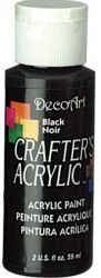 CRAFTERS ACRYLIC USA 59 ml - BLACK