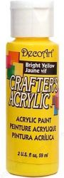 CRAFTERS ACRYLIC USA 59 ml - BRIGHT YELLOW