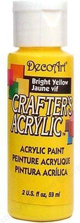 CRAFTERS ACRYLIC USA 59 ml - BRIGHT YELLOW